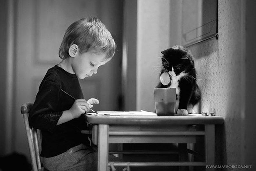 貓與小孩2